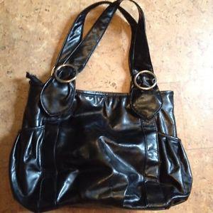 New ladies black handbag