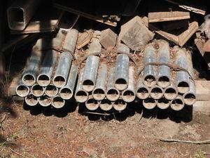 "Reduced! 30 Pieces New 8' Schedual ""80"" Galvanized Steel"