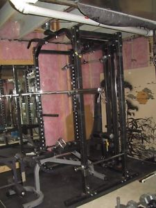 Nautilus Power Rack With Lat Pulldown Posot Class