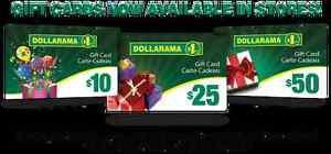 Wanted: Any unwanted Dollarama gift card worth $100