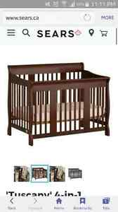 4 in 1 Stork Craft crib -- BRAND NEW IN BOX