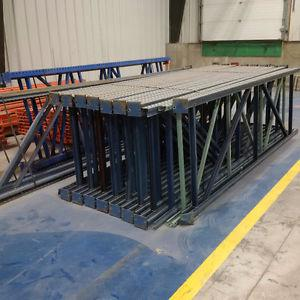 "42"" Wide x 13 Ft High Pallet Racking"