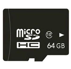 64 gb Micro SD card with USB reader & SD card adapter - NEW
