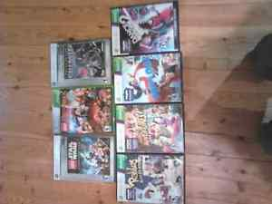 7 xbox 360 video game bundle