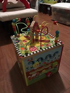 Activity Cube and activity table