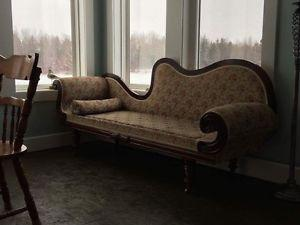 Antique fainting couch