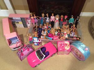 Barbie Collection, approx. 50 dolls plus accessories