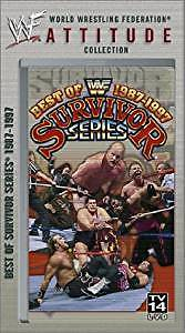 Best Of Survivor Series  & WWF Funniest Moments VHS