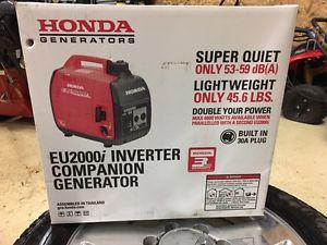 Brand new Honda companion generator