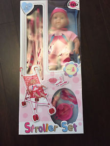 Brand new Lissi Stroller/Doll Set