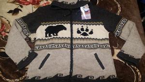 Brand new wool jacket