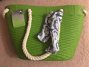 Crocs beach tote bag- brand new