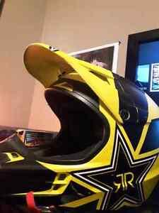 Dirtbike helmet