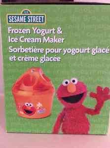 Frozen Yogurt & Ice Cream Maker