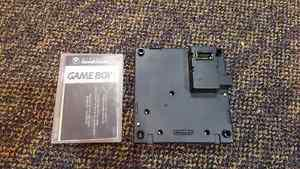 GameCube Gameboy Player and Disc and Gameboy Games