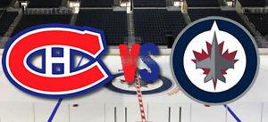 JETS VS CANADIENS / 2 Tickets = $180 or 4 Tickets = $360