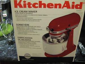 Kitchen Aid - Ice Cream Maker Attachment - NEW