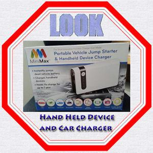 MINIMAX PORTABLE DEVICE CHARGER AND VEHICLE JUMP STARTER