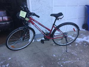 New Solaire Super Cycle 18 Speed Hybrid Bike