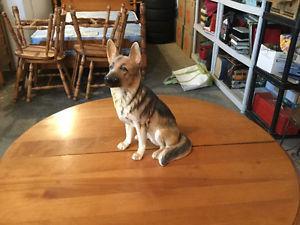 Nice German Shepherd Dog Statue