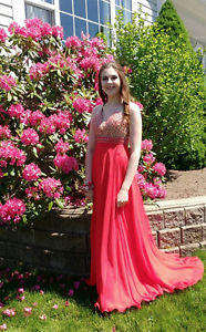 Red Blush Prom Dress
