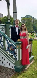 Red Blush Prom Dress