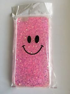Smily face iPhone 6 and 6plus with a glitter