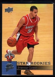 Stephen Curry Upper Deck Basketball Rookie/RC - REDUCED!!