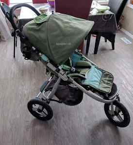 Stroller with accessories