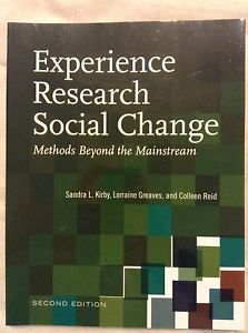 Wanted: Experience research social change