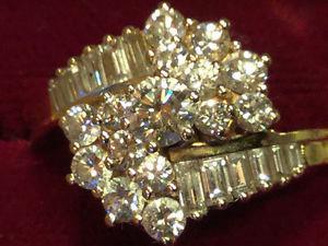 Beautiful multi-diamond ring!