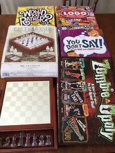 Board Games and 3 in 1 Chess Set