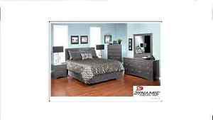Brand NEW Carrara Grey 3PC Bedroom Set! Call !