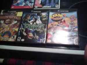 Game cube games excellent condition make a offer