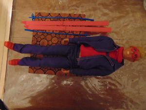 SKIING KEN GOGGLES SKIS POLES BOOTS  DRESSED DOLL