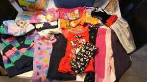 Toddler girl size 4 and 5 lot