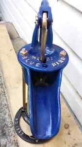 Vintage  Blue Bird water pump