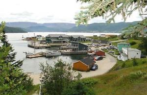 Waterfront property and building for sale $ firm.