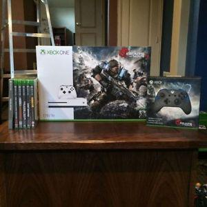 Xbox One S 1TB + 6 Games Bundle