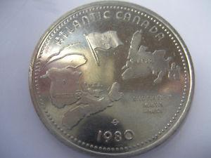 Air Canada Silver Broom Trade Dollar
