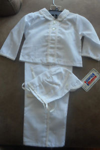 Baby boy Christening Outfit size  months