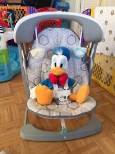 Baby swing - Fisher Price Deluxe Take Along Swing and Seat