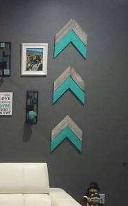 Chevron Arrow - Tiffany Blue - Set of 3 - BRAND NEW!