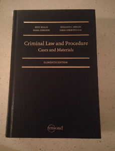 Criminal Law and Procedure (11th ed)