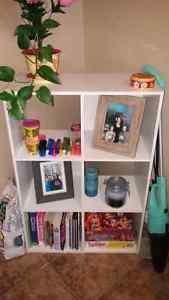 Cube shelf and wicker shelf for sale