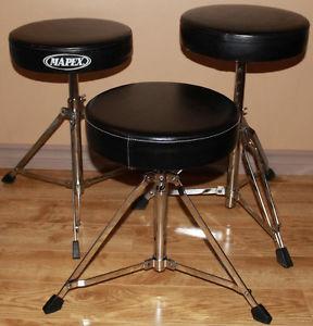 Drum Accessories - Thrones, Cymbals & More