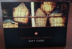 Gift Card for Bertossi Group of Restaurants