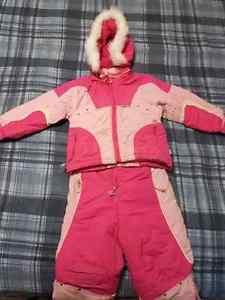 Girl Snow Suit - 3T