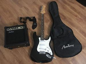 Guitar, amp, and case for sale !