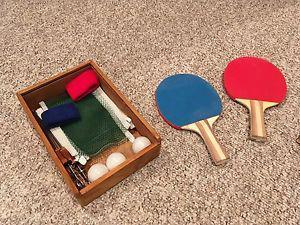 Lee valley table top tennis set